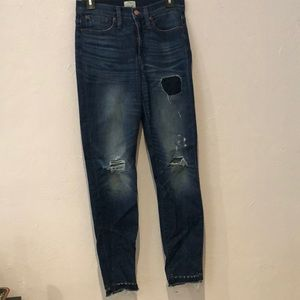 J. Crew Hi-rise Jeans